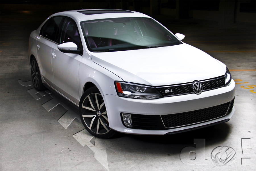 Showroom with Jetta text