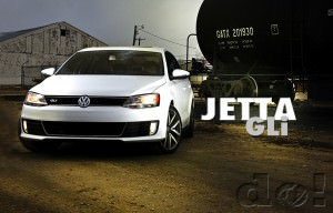 2012 Jetta at the Train Yard