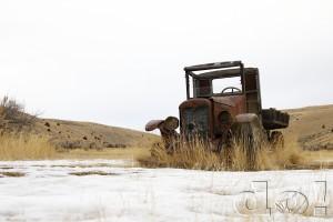 International Truck at Bannack Ghost Town