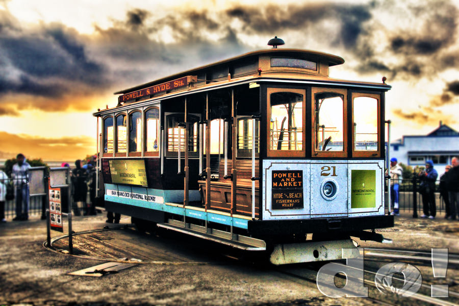San francisco cable cars for Chambre cars