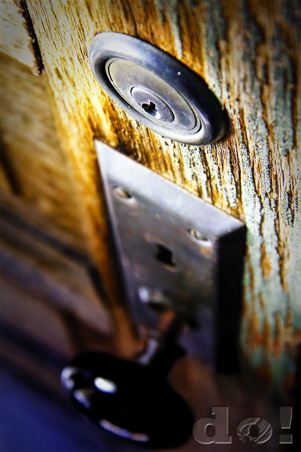 OldDoorLock_BannackGhostTown_DustinOlsen by Array.